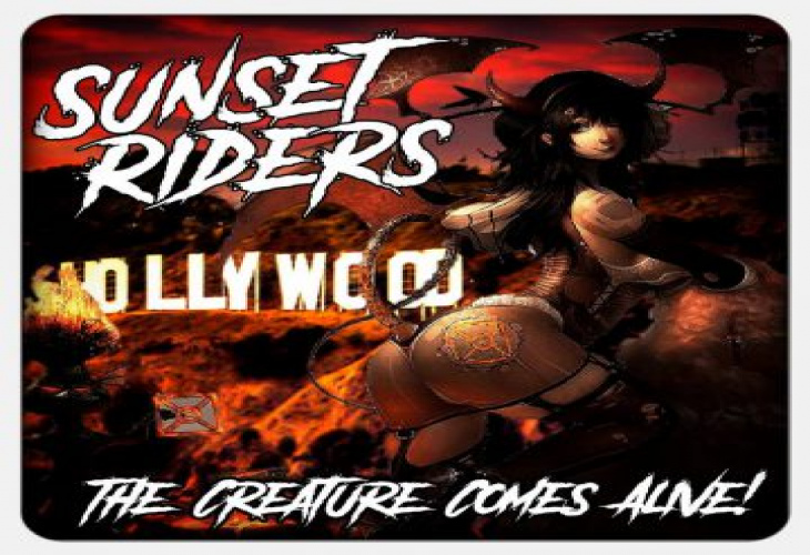 Sunset Riders завершают первый оригинальный трек «The Creature Comes Alive» из предстоящего дебютного альбома