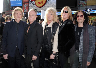 Def Leppard вошли в зал славы рок-н-ролла