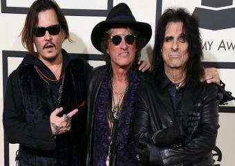Hollywood Vampires выпустили лирическое видео для «Who Laughing Now» с нового альбома «Rise»