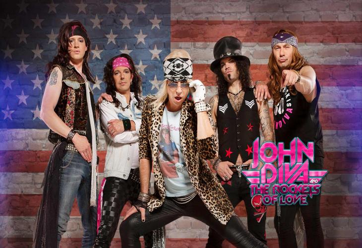 John Diva & The Rockets of Love выпускают видео для «Rockets of Love»