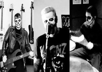 Avenged Sevenfold's выпустили жуткий кавер песни Misfits «Hybrid Moments» в преддверии Хэллоуина