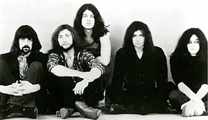 Deep Purple в 1971 году